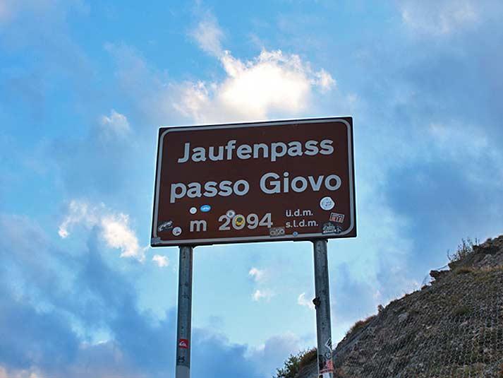 Jaufenpass - Pässe in Südtirol | Suedtirol-Kompakt.com